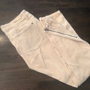 Corduroy pants from Anthropologie
